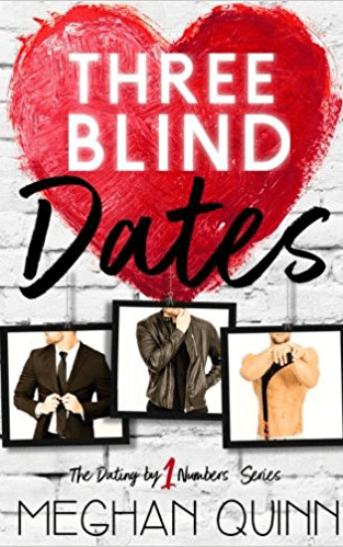 three blind dates cover